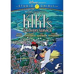 Disney Kiki's Delivery Service DVD | Disney StoreKiki's Delivery Service DVD - Set in a time when airships still ruled the skies and World War II never happened, this is a coming-of-age tale about a young witch who can't take her abilities for granted. From animation master Hayao Miyazaki.