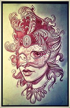 Tattoo Artwork by Sam Clark
