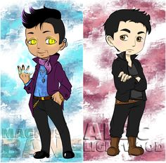Power couple ... From the hands off umkasandiary ... shadowhunters, alexander 'alec' lightwood, magnus bane, the mortal instruments, malec