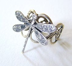 dragonfly ring, love this ** and I was surprised to receive this on Mother's Day!**