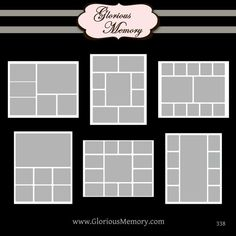 Photoshop Collage Templates Storyboard Blog by GloriousMemory
