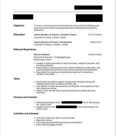 Sample Resume Sample Resume Template For Job Application Example