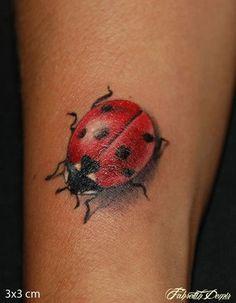 Ladybug | tattoos | Pinterest