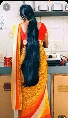 Long Ponytail Hairstyles, Long Hair Ponytail, Braids For Long Hair, Indian Hairstyles, Long Silky Hair, Long Black Hair, Long Layered Hair, Thick Hair, Indian Long Hair Braid