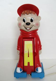 Retro 1984 Alvin The Chipmunks Touch Tone Phone by hootandeye, $20.00