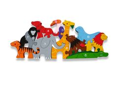 Alphabet Jigsaws the superb range designed and manufacture by the Irish company Alphabet Jigsaws. Many different designs of brightly painted wooden alphabet jigsaws and number jigsaws. Wooden Toys Uk, Wooden Numbers, Wooden Jigsaw Puzzles, Ideal Toys, Puzzles For Kids, Toddler Gifts, Antique Art, Cool Toys, Alphabet