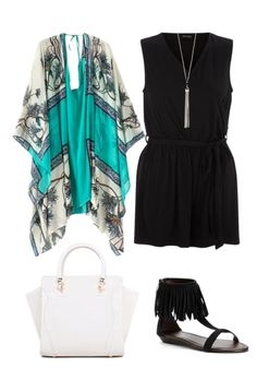 Cute Outfit Ideas of the Week - kimono outfits for summer! Do you wear kimonos? Would you?