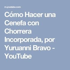 Cómo Hacer una Cenefa con Chorrera Incorporada, por Yuruanni Bravo - YouTube Youtube, Videos, Shape, How To Make, Blinds, Couture, Blue Prints, Youtubers, Youtube Movies