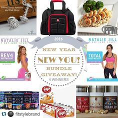 "#Repost @fitstylebrand with @repostapp.  UPDATE: Our ""New Year New You"" giveaway has gotten even BETTER! @6packbags is joining us with 4 Innovator mini's (2 black 2 red)! So you'll have a GREAT bag to carry your delicious @powerpowerplate meals and protein snacks from @yupbrands @buffbake and @eatenlightened! In addition @Nataliejillfit has ADDED 4 MORE at home workout DVDs! Our giveaway will ensure that you'll start this New Year off with a bang! You don't want to miss this giveaway so…"