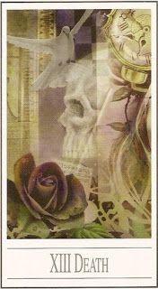 Cartas do Destino: Cartas que indicam uma possível morte física.