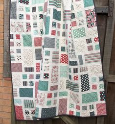 PDF Quilt Pattern for Layer Cakes On The Right by MackandMabel