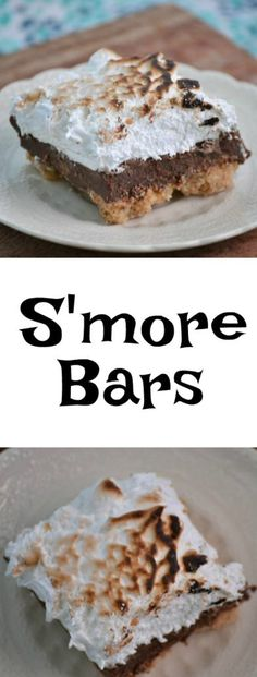 These delicious S'mo