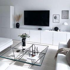 Household Decor Rugs - Home Decor Ideas Home Living Room, Living Room Designs, Living Room Decor, Home Furnishings, Home Furniture, Sweet Home, House Design, Interior Design, Monochrome Interior
