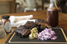 Nothing says Texas like some good barbecue!   Texas Spice in The Omni Dallas Gives Hollywood Glam a Southern Edge