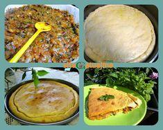 Lakror Korce me qepe e domate Albanian Recipes, Albanian Food, Meal Prep, Food Prep, Mediterranean Recipes, Cornbread, Ethnic Recipes, Kitchens, Millet Bread