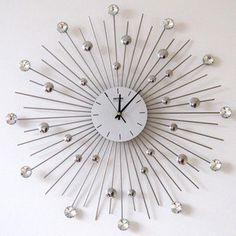 relogio de parede moderno e decorado pesquisa google wall clockskitchen - Large Decorative Wall Clocks