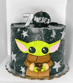 Yoda Happy Birthday, Star Wars Birthday Cake, Star Wars Cake, Happy Birthday Cakes, Kendall Birthday, Yoda Cake, Marvel Cake, Cake Designs Images, Creative Cake Decorating