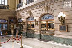 Hoboken Terminal Interior II - Fine Art Photo by Andrew Prokos