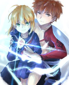 Fate/stay night: Heaven's Feel Re - Hero - Rey Dragon Supremo Indra (Indura) - Wattpad Saber X Shirou, Shirou Emiya, Manga Anime, Anime Art, One Punch Anime, Arturia Pendragon, Fate Stay Night Anime, Fate Anime Series, Fate Zero