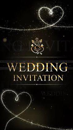 Marriage Invitation Card, Indian Wedding Invitation Cards, Wedding Invitation Background, Wedding Invitation Video, Wedding Invitation Card Design, Personalised Wedding Invitations, Modern Wedding Invitations, Digital Invitations, Hindu Wedding Cards