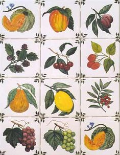 hand painted tiles images - Bing Images ---- for kitchen