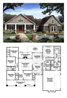 The Aspen Creek 8562 4 Bedrooms and 3 Baths The House Designers