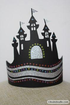 Faire une couronne pour la galette des rois | Ciloubidouille