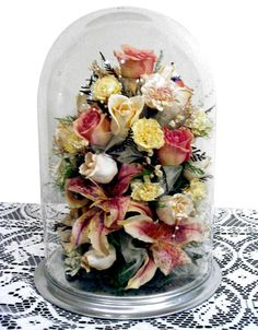 Preserve your wedding bouquet, and display it in your home. What a gorgeous keepsake! And a great way to enjoy those flowers!