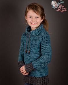 Crochet pattern for this pullover! Looks great!!!