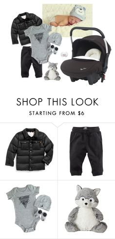 """""""Baby boy !"""" by fiction-928 ❤ liked on Polyvore featuring Burberry, H&M and NIKE"""