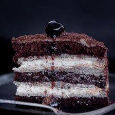 Tort Opium Vanilla Cake, Tiramisu, Ethnic Recipes, Vanilla Sponge Cake, Tiramisu Cake