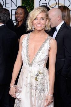 Sienna Miller at event of 72nd Golden Globe Awards (2015)
