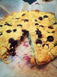 Gluten free bluberry and coconut scone ✌️