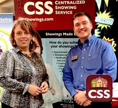 John Dixon (Raleigh Cary Realty) stopped by the CSS booth #1 to see Paula Nash (CSS Account Executive) at the 2015 TMLS Technology and Trade Show. He loves CSS because he saves time and effort while managing his showing activity. Stop by the booth today for your chance to win $50!