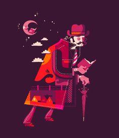 """""""Los libros nos hacen errantes de la lectura"""" (ilustración de Esther Aarts)"""