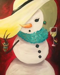 Join us at Pinot's Palette - Woodlands Studio on Tue Dec 05, 2017 7:00-9:00PM for Snow Diva. Seats are limited, reserve yours today!