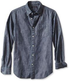 chambray shirt men - Google Search