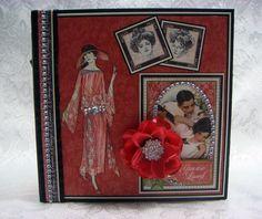 TPHH Sharon Chipboard PREMADE Graphic 45 Keepsake Photo Scrapbook Album ~Video #ByScrapbook_MumSharon