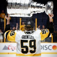 Jake Guentzel & the Stanley Cup
