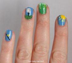 Golf Nail Art!