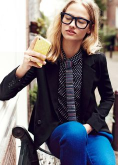 """The Terrier and Lobster: """"Hello, Amsterdam"""": Robin in Amsterdam for the Madewell Fall 2012 Style Guide"""