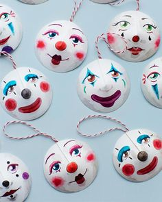 Sweet Paul - Circus Paper Crafts with Printables Circus Crafts, Circus Art, Circus Decorations, Party Decoration, Diy Paper, Paper Crafts, Diy Crafts, Diy For Kids, Crafts For Kids