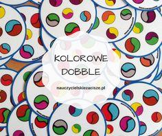 Kolorowe, kropkowe Dobble do pobrania  Dot Day game free to download