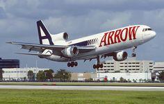 Arrow Airlines Lockheed L-1011
