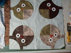 Roly Poly Owl by Katrina at Sunshower Quilts