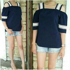 Short Sleeve Blouse, Shoulder, Sleeves, Tops, Women, Fashion, Moda, Women's, La Mode