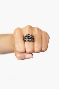 Skeleton Hand Ring