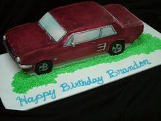 SugarEd Lagniappe: How to make a 3D car cake