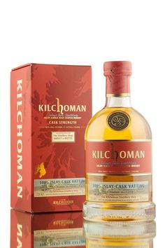 Matured for over 8 years, this distillery shop exclusive from Kilchoman distillery is a vatting of two 100% Islay fresh bourbon barrels (Cask 517 & 538), both distilled in 2008. A 'Barley to Bottle' release, filled in 2017 at cask strength, 56.8% vol.