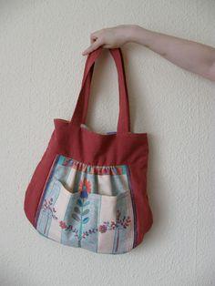 Innenansicht der Greteli-Tasche